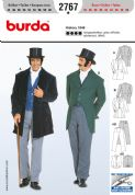 2767 Burda Pattern: Men's Historical Costumes
